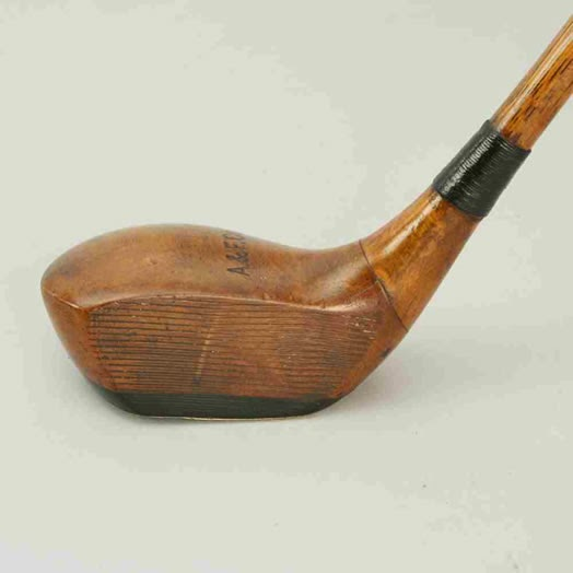 $300,000 antique golf club