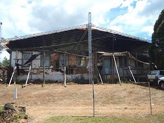 A Fazenda do Registro Velho, um dos marcos históricos de Barbacena, cidade na região Campo das Vertentes, está com as obras de recuperação avançadas na cidade.