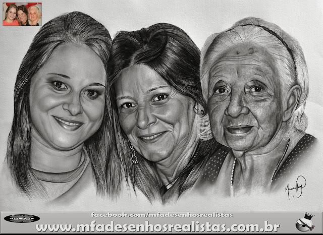 (Desenhos Realistas) - Maurícío Fortunato Araújo