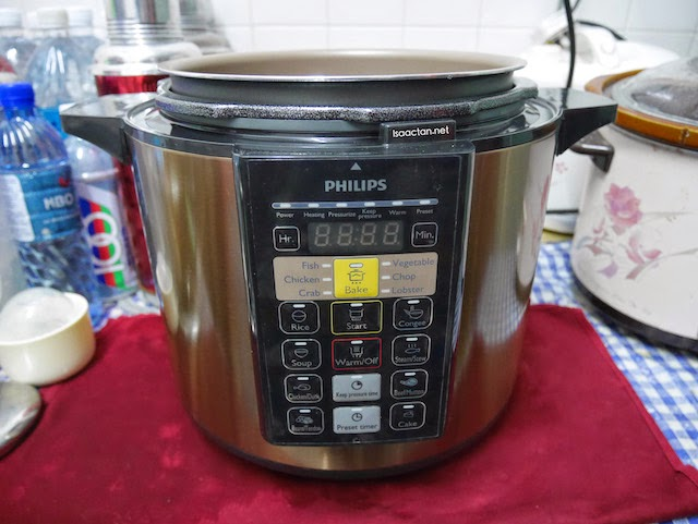 Green Bean Soup - Easily Achieved With Philips Pressure Cooker