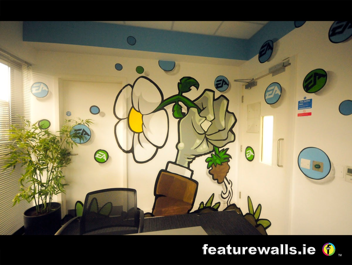 Mural Painting Professionals featurewalls.ie: EA GAMES BESPOKE ...