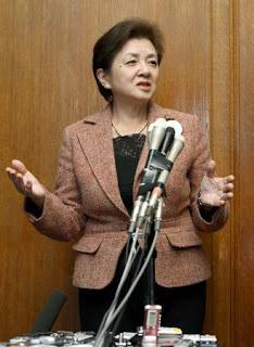 日本未来の党を立ち上げた嘉田由紀子知事