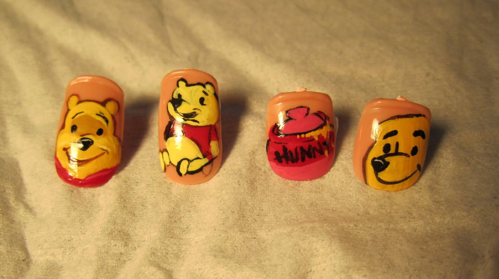 Andrea Pettingill Nails Disneyland Nails