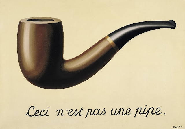 "René Magritte's ""The Treachery of Images"""