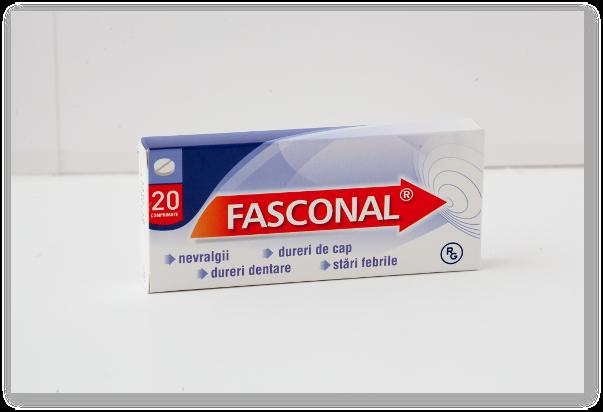 Fasconal – cand nu trebuie utilizat si ce reactii adverse prezinta?