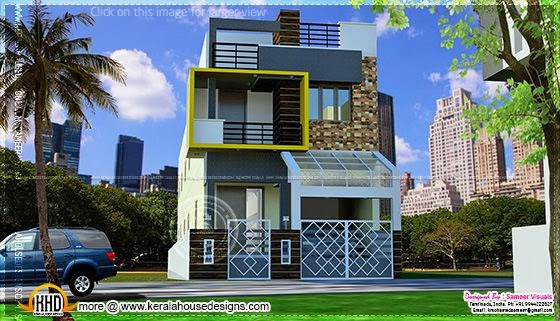 Modern South Indian house