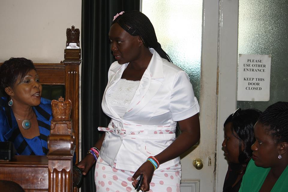 Hon Nyasha Chikwinya and Melody Chidziva