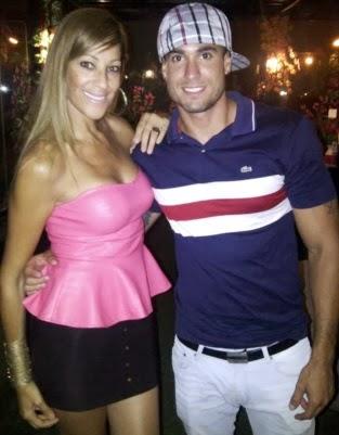 Gino Assereto con Edith Tapia