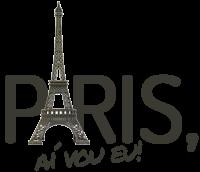 Paris, aí vou eu!
