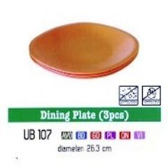 Info & Harga Twin Tulip Tulipware 2014 : Dining Plate - Piring Makan
