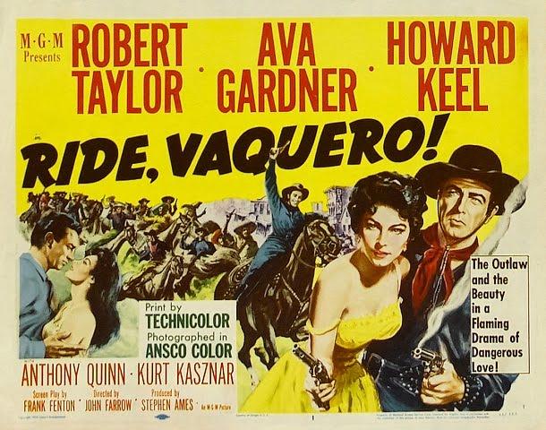 """""""Ride, Vaquero!"""" (1953)"""
