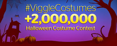 Viggle halloween costume contest