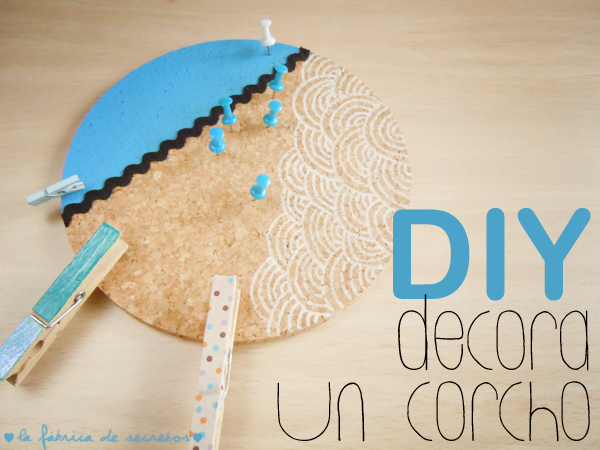 Diy tabl n de corcho handbox craft lovers comunidad - Pared de corcho ...