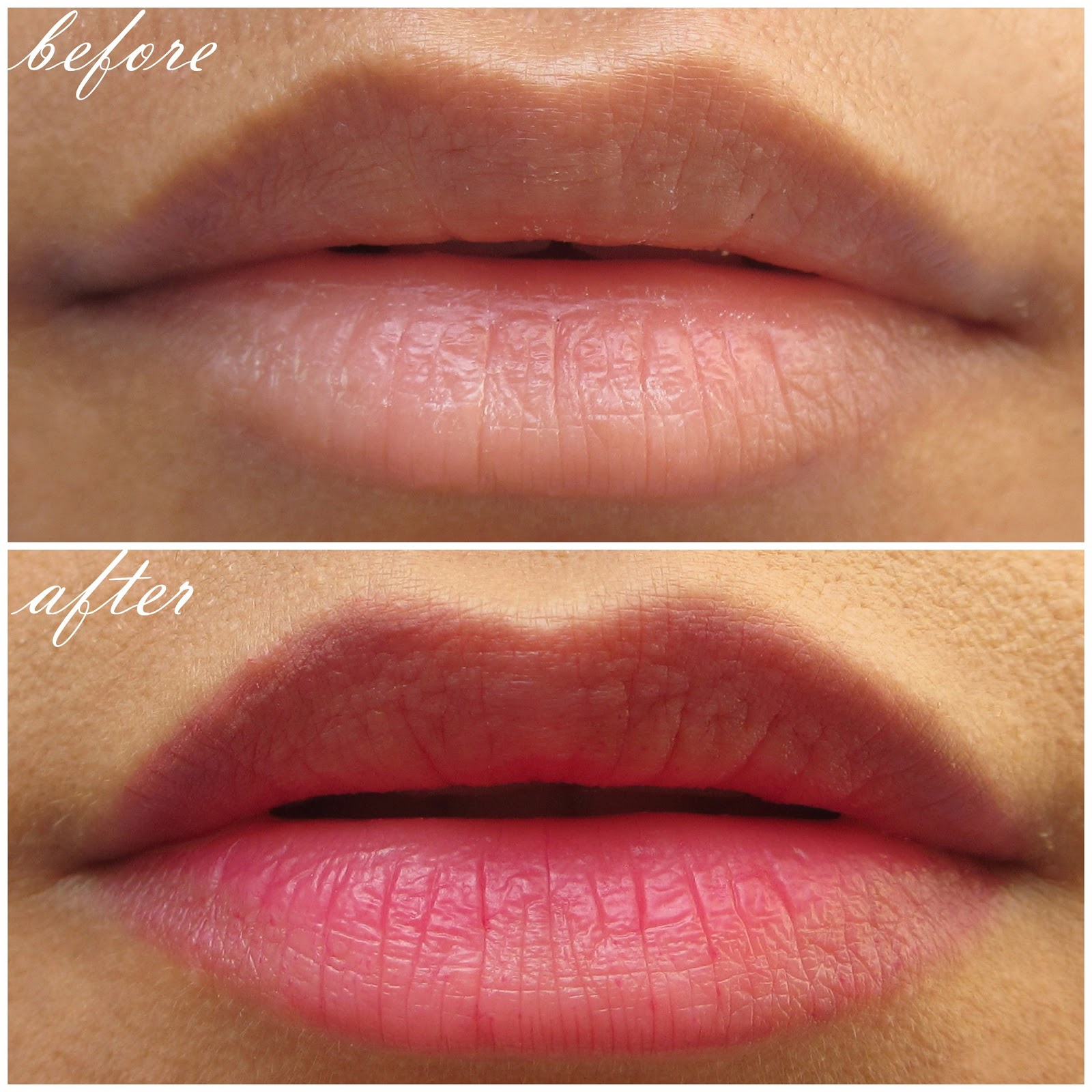 Lip tints and lip stains are the next best thing for adding some color to your lips but without all the hassle. They cling to lips all day long and stay there. The pigment won't travel to your teeth, and you won't have to worry about post-meal reapplication.