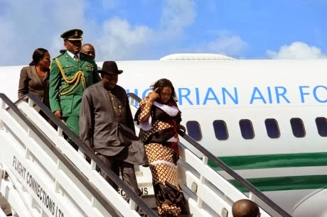 President Jonathan Escapes Plane Crash In His N9bn Jet