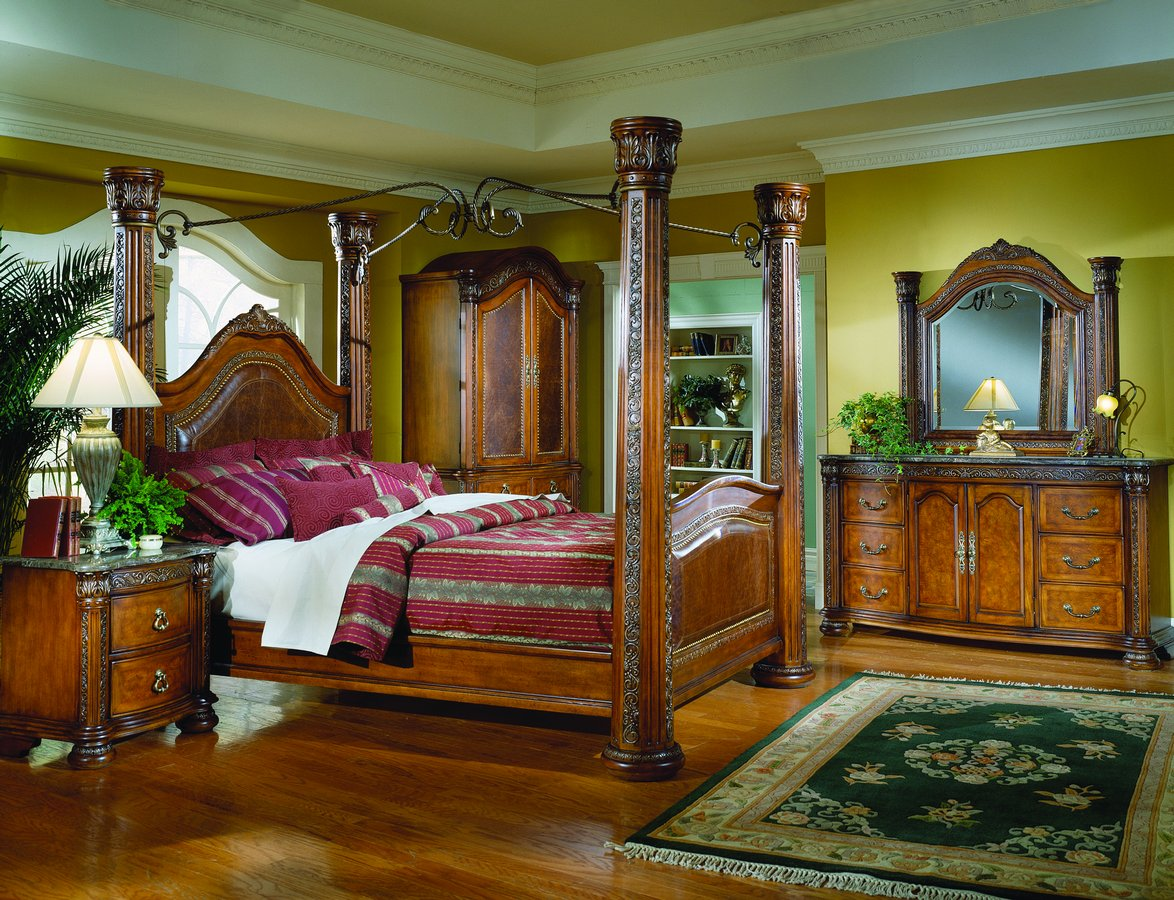 Interior design home decor furniture furnishings for Interior design canopy bed