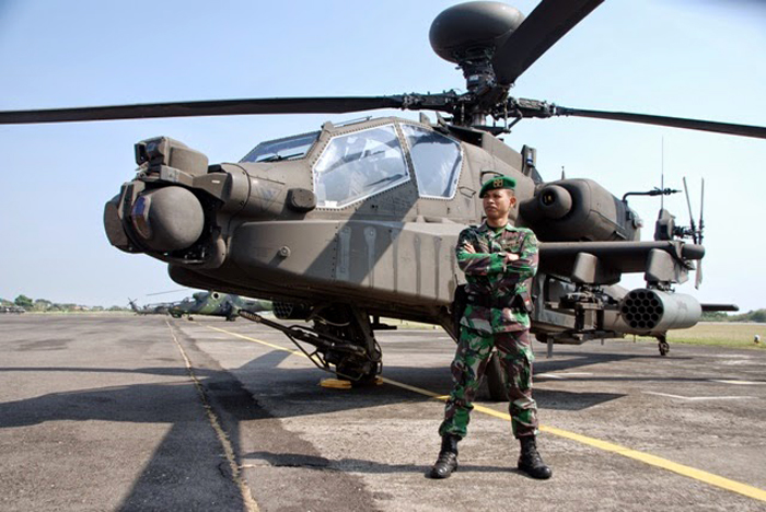Apache AH64E TNI
