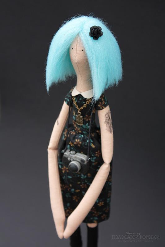 Неформальная кукла хипстер