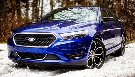 2017 Ford Taurus SHO and Redesign