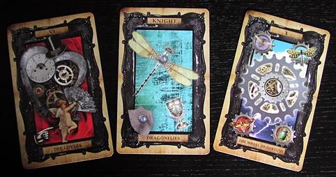 A bad witch's blog: Review: The Victorian Steampunk Tarot Golden Tarot Liz Dean