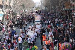 Desfile Mes de la Dominicanidad Madrid 2011