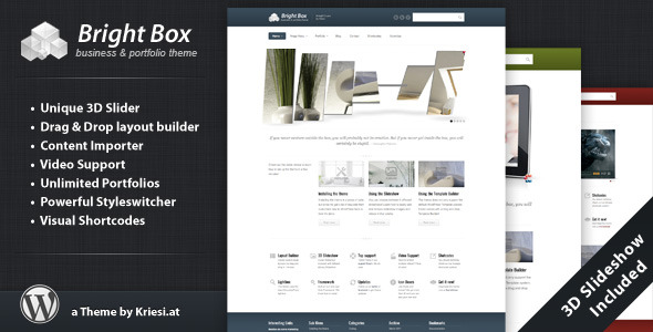 BrightBox - Business & Portfolio Wordpress Theme Free Download by ThemeForest.