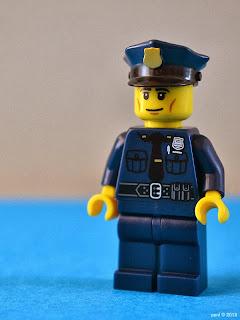 a lego cop