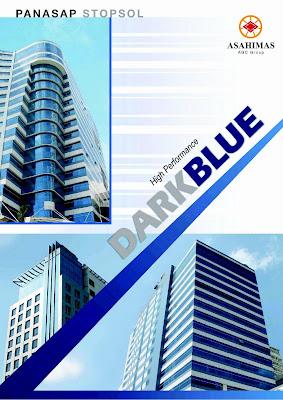 Kaca Panasap Stopsol Dark Blue