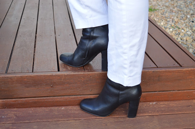 Sydney Fashion Hunter #44 - Back In Black - David Lawrence Lexie Boots