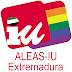 ALEAS-IU sobre la ley de igualdad LGTBI del Gobierno de Extremadura.