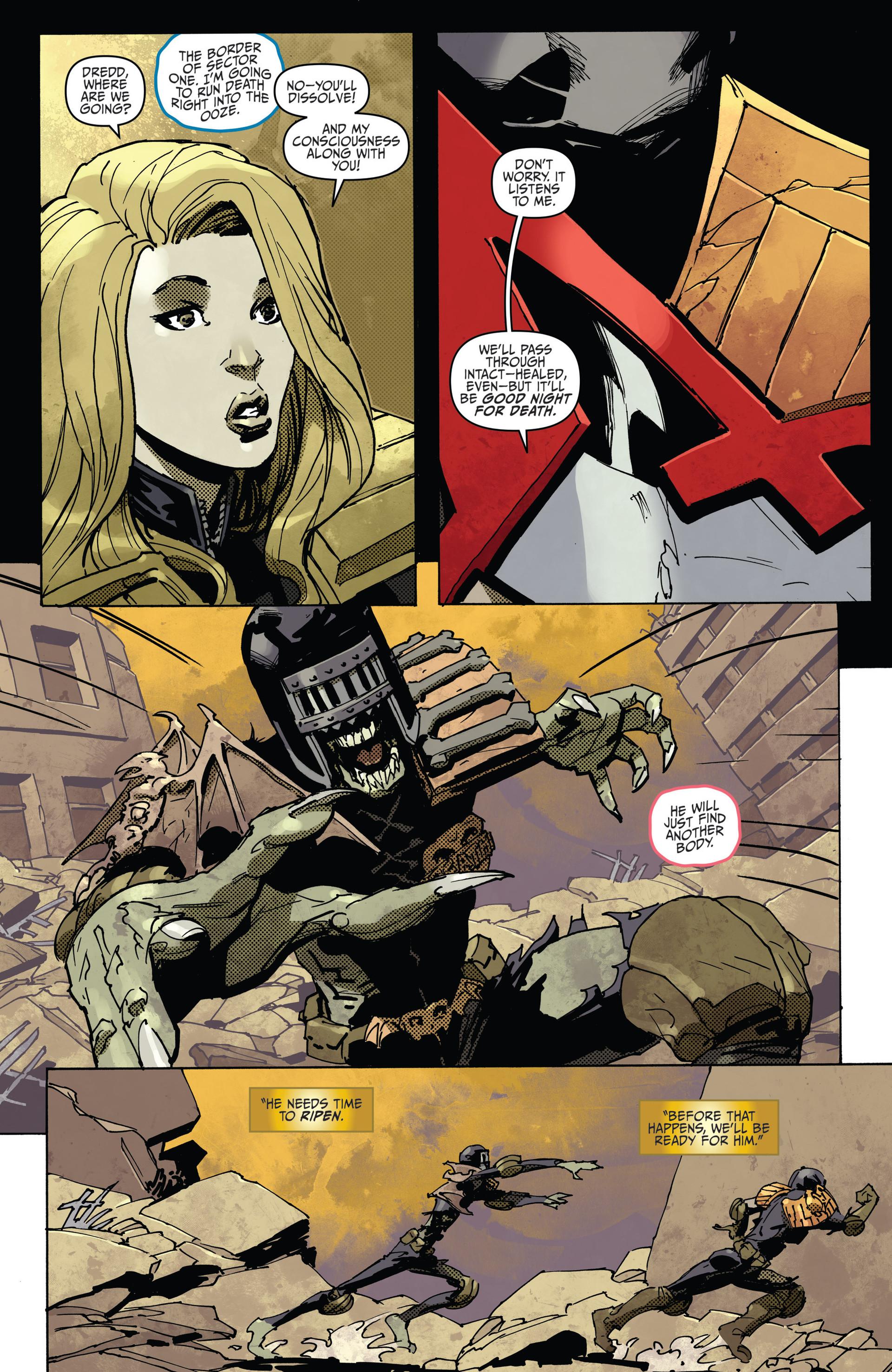Read online Judge Dredd (2012) comic -  Issue #22 - 17
