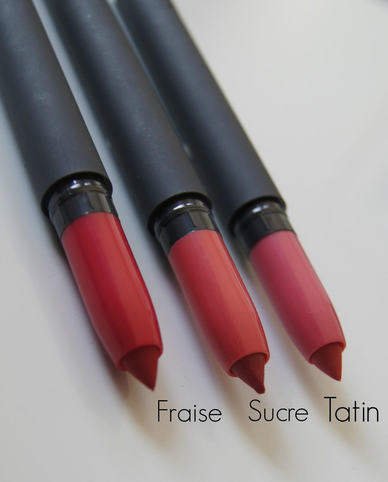 Bite Matte Creme Lip Crayon-Fraise, Sucre and Tatin