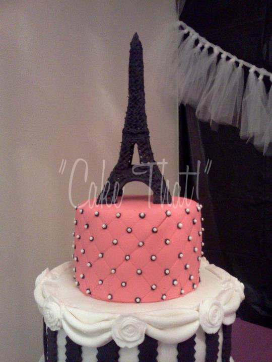 Cake Images With Name Pari : Cake That! Inc.: Paris Party!