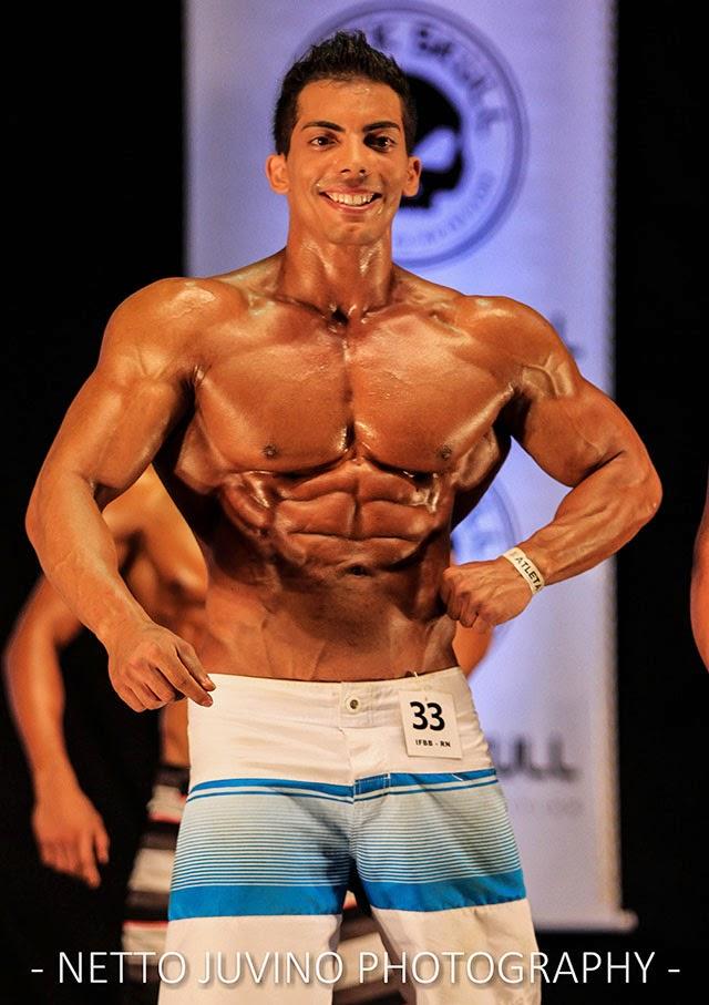 O atleta se preparou em apenas seis semanas para participar da competição. Foto: Netto Juvino