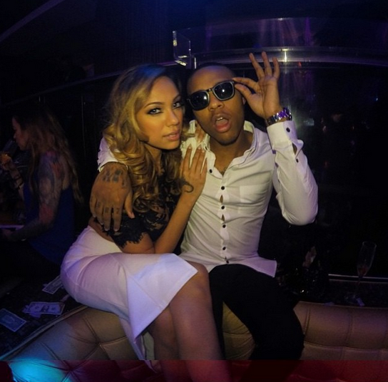 Bow Wow and Erica Mena New Years Eve