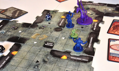 Legend of Drizzt Board Game Review wobbly dragon