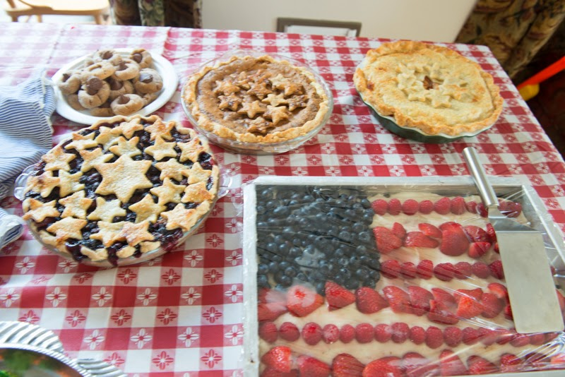 fourth of july pie