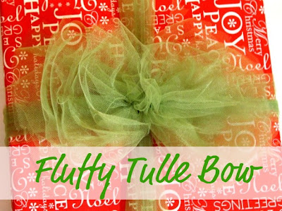 tulle gift bows
