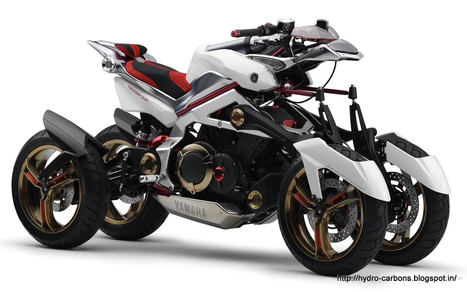 Four Wheelers With Rims : Grease and gasoline the yamaha tesseract concept motorcycle
