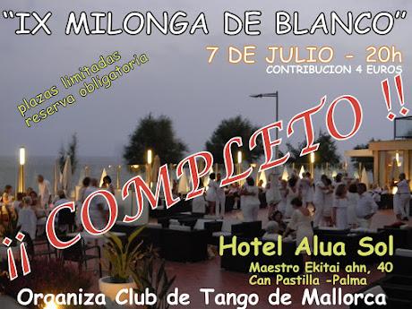 IX milonga DE BLANCO