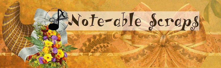 Note-able Scraps