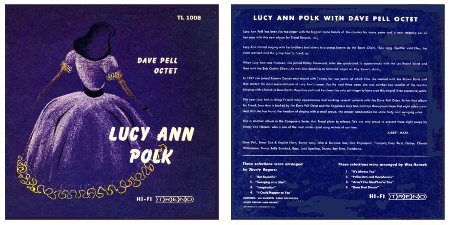 Bildergebnis für dave pell lucy ann polk