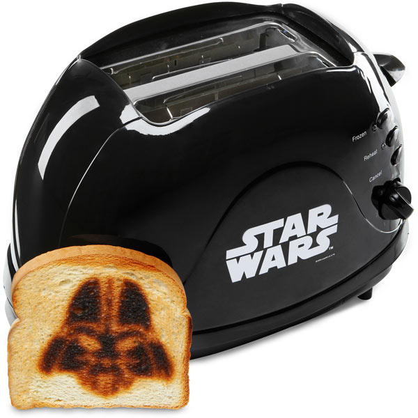 toys for boys darth vader toaster. Black Bedroom Furniture Sets. Home Design Ideas