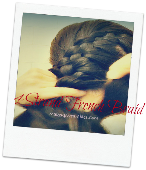 Image2+cover Easy 4 Strand Braid & 4 Stranded French Braids Hair Tutorial Video