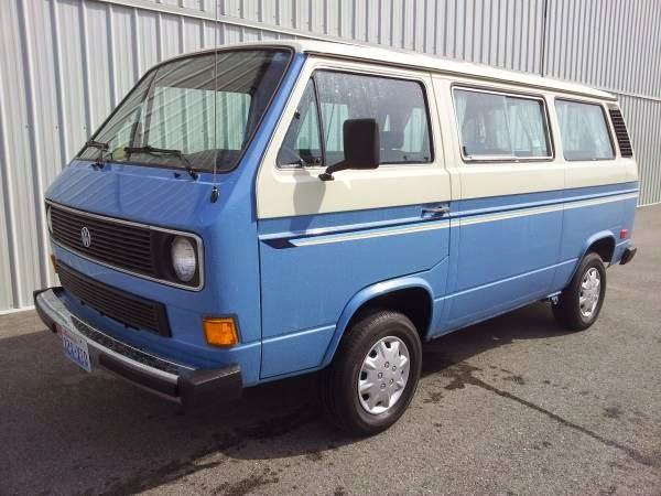 Like New 1984 VW Vanagon - Buy Classic Volks