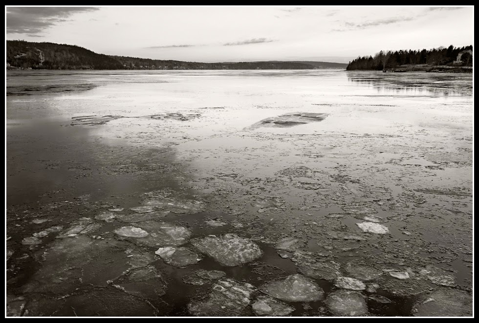 LaHave River; Ferry; Ice; River; Crossing; Nova Scotia