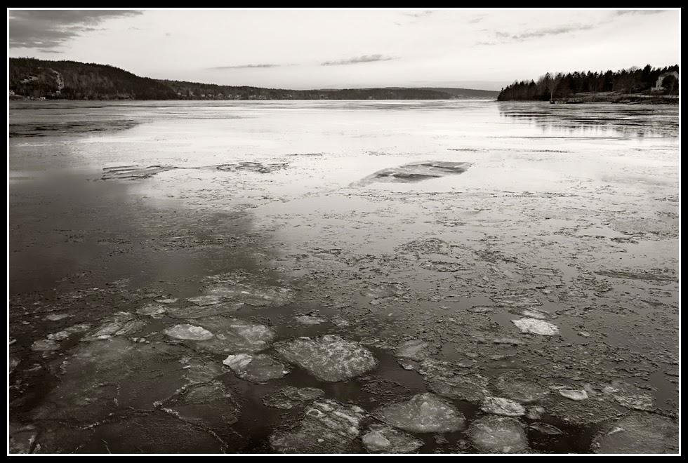 LaHave River; Ferry; Ice; River; Crossing; Nova Scotia