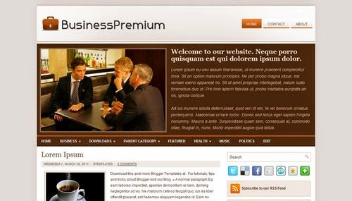BusinessPremium - Free Blogger Template