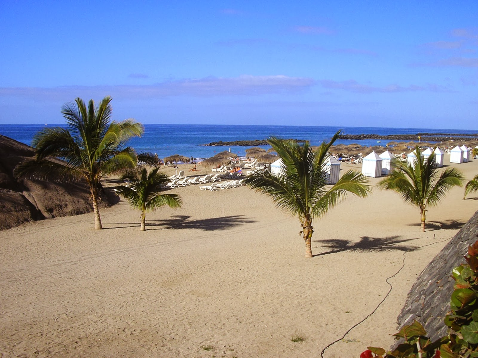 Beach in Tenerife, Spain