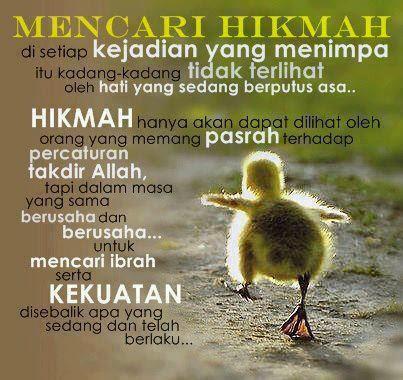 hikmah ujian Allah,sabar,syukur,redha